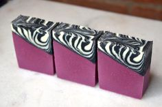 In this video I'm going to walk you through making this zebra glam soap design. Here's what you'll need! Zebra Glam Recipe Base Oils Coconut Oil (76 degree) – 225 grams (25%) Shea Butter – 135 gram…