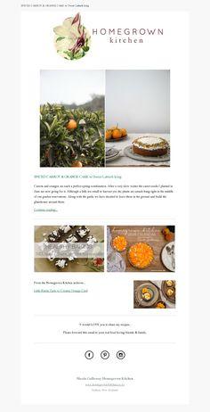 Homegrown Kitchen newsletter made with MailerLite