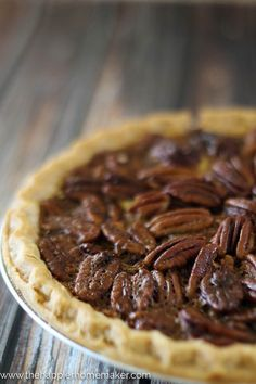 This classic Southern Pecan Pie Recipe is straight out of Suffolk, Virginia and is going to be the best pecan pie that's ever passed your lips! A winner recipe!