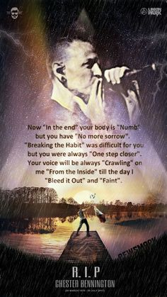 Beautiful Legend Chester Bennington ❤🤘 Your voice will always be home💙🎤🤘 Chester Bennington Quotes, Charles Bennington, Chester Rip, Linkin Park Chester, Park Quotes, Rip Quotes, Linkin Park Wallpaper, Linking Park, Mike Shinoda