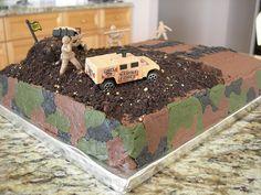 Camo Cake | Flickr - Photo Sharing!