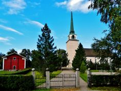 Lutheran church Ähtäri, Finland.
