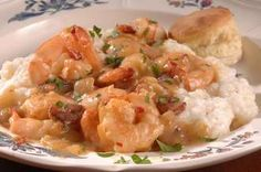 Summer Supper Shrimp and Grits - One of my favorite southern dishes.