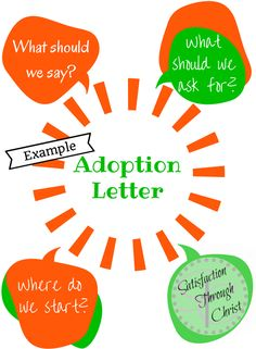 Adoption Letter Example from Satisfaction Through Christ