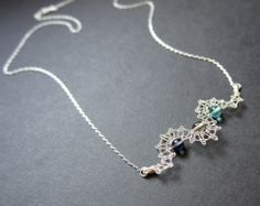 Adriatic Blue Wave Necklace