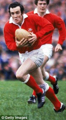 Phil. Bennett - Welsh Rugby Union player.