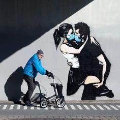 Graffiti Art, Street Art Banksy, Grafitti Street, Street Art Love, Street Art News, Urban Street Art, Street Artists, Urban Art, Arte Banksy