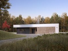 Cytrus 2 projekt domu - Jesteśmy AUTOREM - DOMY w Stylu Cabana, House Plans, Garage Doors, Shed, Outdoor Structures, Outdoor Decor, Modern, Home Decor, House Ideas