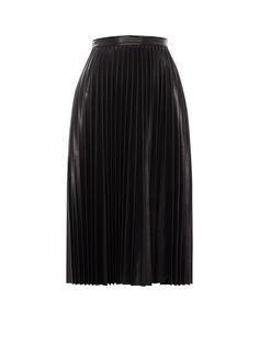 Faux leather skirt, Whistles