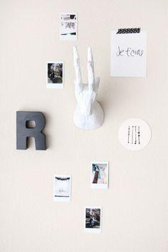 simple DIY paper mache animal head