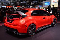 Honda Civic Type R Concept live at 2014 Geneva Motor Show