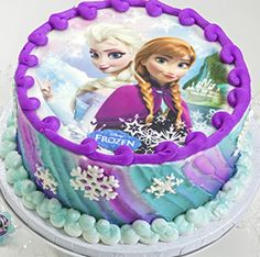 Learn How-To Makea Frozen Sisters Birthday Cake