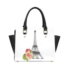 Paris Eiffel Towel Classic Shoulder Handbag (Model 1653)