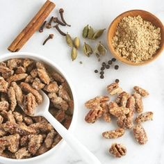 Sugar & Spice Pecans   Have a handcrafted holiday with these easy make-ahead gifts.