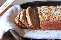 Love bread as we do, it's traditionally made from wheat, which can be hard to digest. Enter quinoa, and this recipe for turning it into amazing nutty bread.