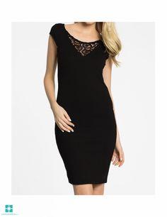 Vila - rochie Beirut - negru 4961-SUD197 Beirut, Black, Dresses, Fashion, Vestidos, Moda, Black People, Fashion Styles, Dress