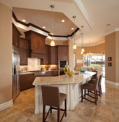 Like the furdown in the kitchen  Christopher Burton Homes   Archived Private Collection