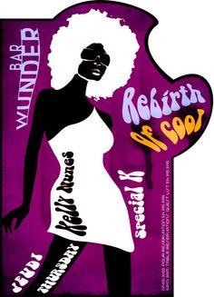 #wunderbar #RebirthOfCool #Poster #eflyer  #Jeudi #Thursday #nightlife #montreal #party #HipHop #OldSchool #music #artwork #logo #photoshop #design #cocktails #bottleservice #events