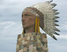 Indian Head Statue - Indian Head, Saskatchewan