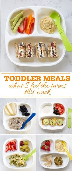 Toddler Meals What I Fed the Twins #toddlermeals