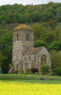 St Wulstan's Church, Little Malvern, Gloucestershire, England, resting place of Sir Edward Elgar