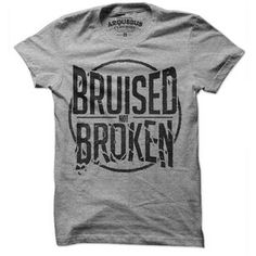 Bruised Not Broken Tee Women's, $12, now featured on Fab.
