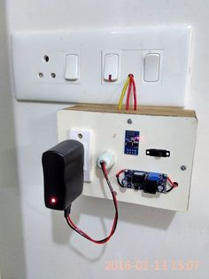Wifi Timer Switch for AC Loads This instructable is based on version which is programmed as wifi… Esp8266 Projects, Iot Projects, Arduino Wifi, Esp8266 Wifi, Hobby Electronics, Electronics Projects, Electronics Storage, Raspberry Projects, Diy Home Automation