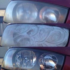 How to Clean Your Headlight Covers With Toothpaste Car Cleaning Hacks, Car Hacks, Diy Cleaning Products, Cleaning Recipes, Cleaning Solutions, Cleaning Supplies, Cleaning Headlights On Car, How To Clean Headlights, Lifehacks