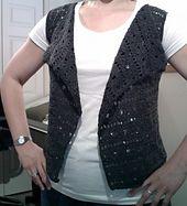 Ravelry: Drapey Crochet Vest pattern by Tammy Hildebrand