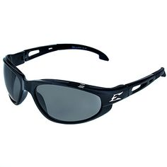 Edge Eyewear: Men's Dakura SW116 VS ANSI Smoke Lens Safety Sunglasses