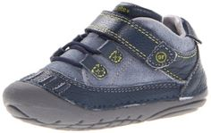 Stride Rite SRT SM Radcliffe Boot (Infant/Toddler),Navy/Green,3.5 M US Toddler Stride Rite http://www.amazon.com/dp/B00APVJ10E/ref=cm_sw_r_pi_dp_.Tdvub1FTE4BE