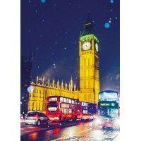 Big Ben at Night Christmas Cards