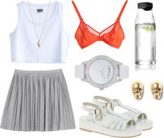 """""""Summer time"""" by luxe-ocean ❤ liked on Polyvore"""