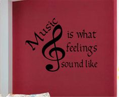 For the music room!