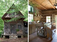 :: some times it might be nice to escape my big city living to little log cabin in the woods ::