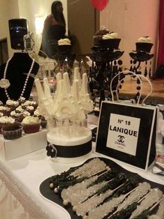 Lanique's Chanel Themed Party | CatchMyParty.com