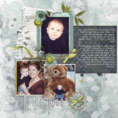 Baby's First Year #scrapbook