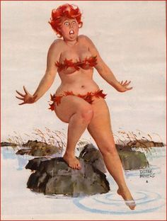 It's my pride and joy to introduce to you pin-up art's best kept secret. She is one of American's Full-Figured gals from the beautiful pictures by Artist, Duane Bryers Arte Pin Up, Pin Up Art, Dita Von Teese, 1950s Pin Up, Estilo Pin Up, Amy Winehouse, Illustrations, Poses, Full Figured