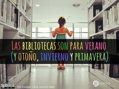 Las bibliotecas son