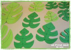 feuilles hawaïennes Stitch Disney, Lilo Et Stitch, Deco Jungle, Main Theme, Dinosaur Birthday, Tahiti, Diy Crochet, Hawaii, Lolo