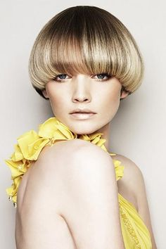 Cool Bowl Cut Short Blonde And Mushroom Haircut On Pinterest Hairstyle Inspiration Daily Dogsangcom