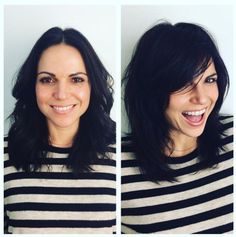"""Just got to do an AMAZING makeover on one of my FAVE people Lana Parrilla!"" via @dansharpnyc's IG #EvilRegals"