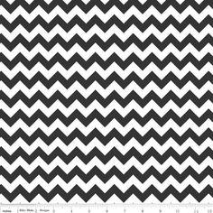 ♥♥ Chevron schwarz-weiss Baumwolle  ♥♥ von Mädchenschätze auf DaWanda.com