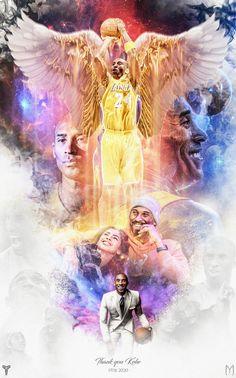 """Thank you so much for being a Legend. Rest in heaven. Kobe Bryant Family, Lakers Kobe Bryant, Basketball Posters, Basketball Art, Kobe Bryant Daughters, Kobe Bryant Michael Jordan, Kobe Bryant Quotes, Shiva, Estilo Selena Gomez"