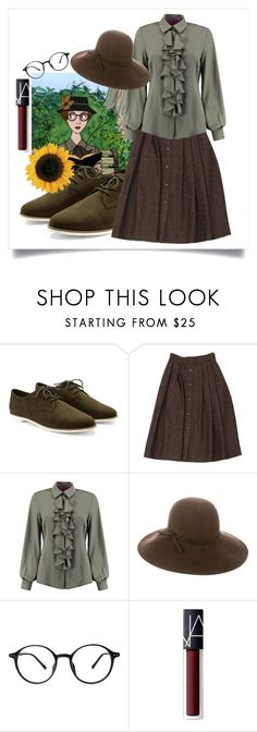 """""""Anita"""" by devrene ❤ liked on Polyvore featuring Forever 21, Guy Laroche, Boohoo, rag & bone and NARS Cosmetics"""
