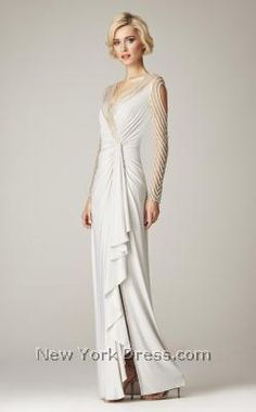 Mignon VM1057 - NewYorkDress.com winter wedding