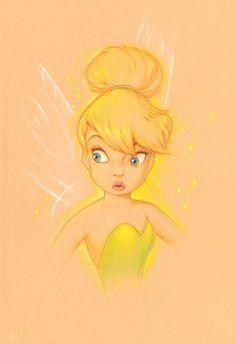 Pixie Portrait 3: By Manuel Hernandez, Disney Fine Art