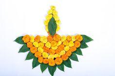 Marigold Flower Rangoli Design For Diwali Festival , Indian Festival Flower Decoration Stock Image - Image of festival, hinduism: 128112065 - Easy Rangoli Designs Diwali, Rangoli Designs Flower, Colorful Rangoli Designs, Diwali Diy, Diwali Rangoli, Rangoli Designs Images, Flower Rangoli, Flower Designs, Free Hand Rangoli Design
