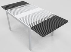 Extendable Table by Daniele Lazzaretti