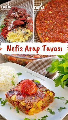 Yummy Arab Pan - Yummy Recipes-Nefis Arap Tavası – Nefis Yemek Tarifleri How to make Delicious Arabian Pan Recipe? An illustrated explanation of the Delicious Arabian Pan Recipe in the book of people and photographs of those who try it are here. Casserole Recipes, Meat Recipes, Pasta Recipes, Cooking Recipes, Healthy Recipes, Yummy Recipes, Recipe For Mom, Pan Recipe, Kitchen Trends